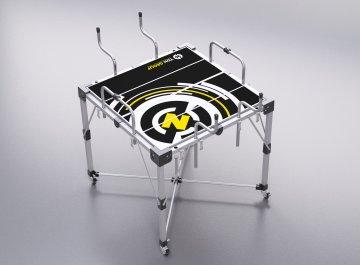 MOBILE TABLE FOR CAR REPAIRING